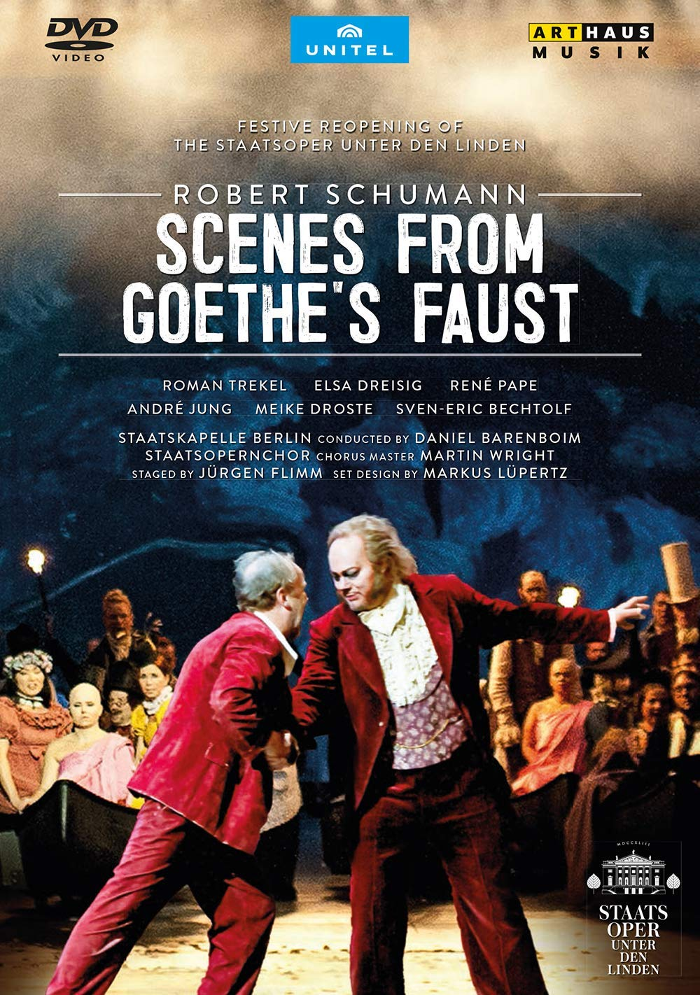 Review of SCHUMANN Scenes from Goethe's Faust (Barenboim)
