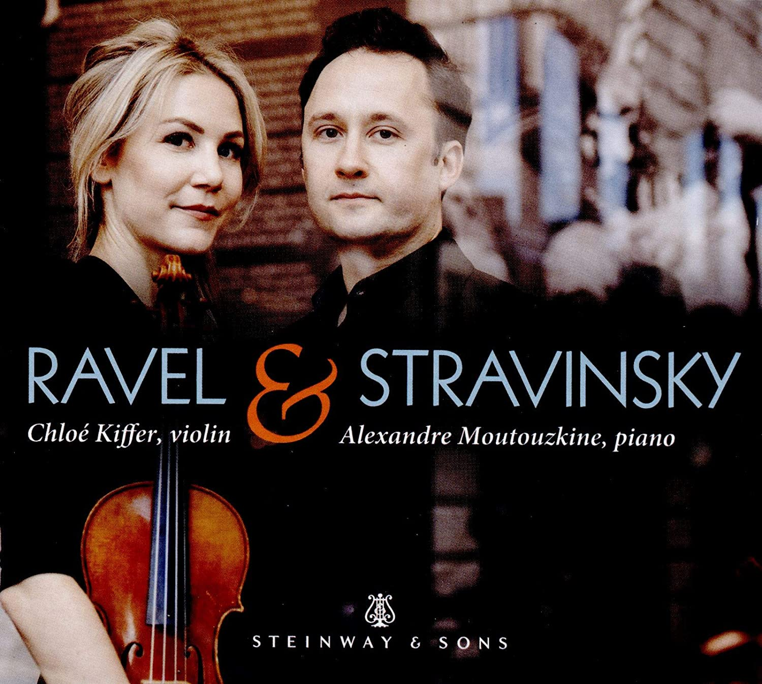 Review of RAVEL; STRAVINSKY Works for violin and piano (Kiffer & Moutouzkine)