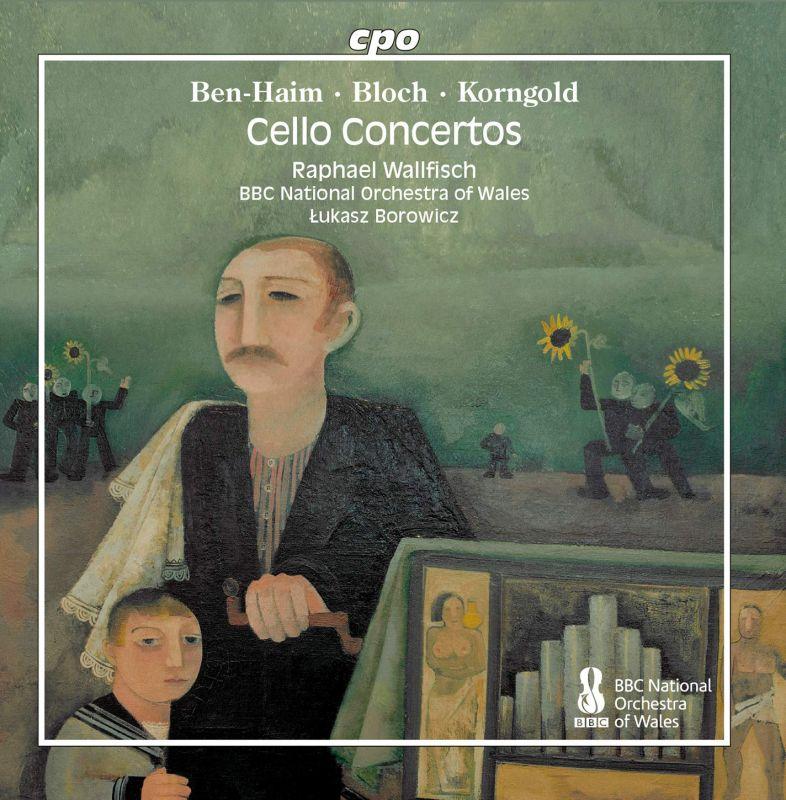 Review of BEN-HAIM; BLOCH; KORNGOLD Cello Concertos (Wallfisch)