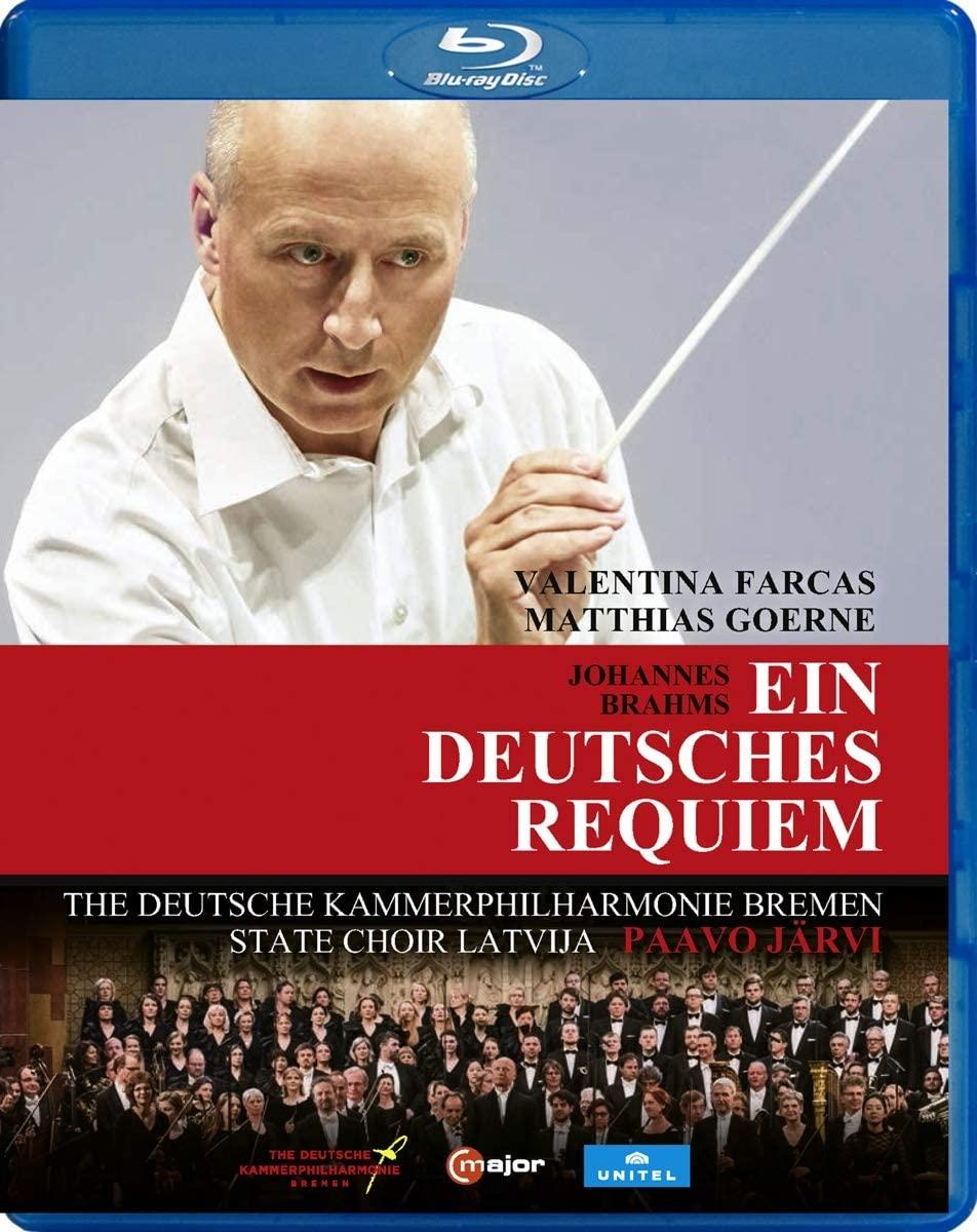 Review of BRAHMS Ein deutsches Requiem (Paavo Järvi)