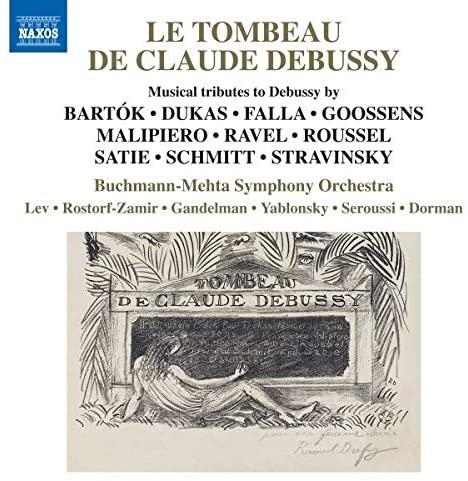 Review of Le Tombeau de Claude Debussy (Tomer Lev)