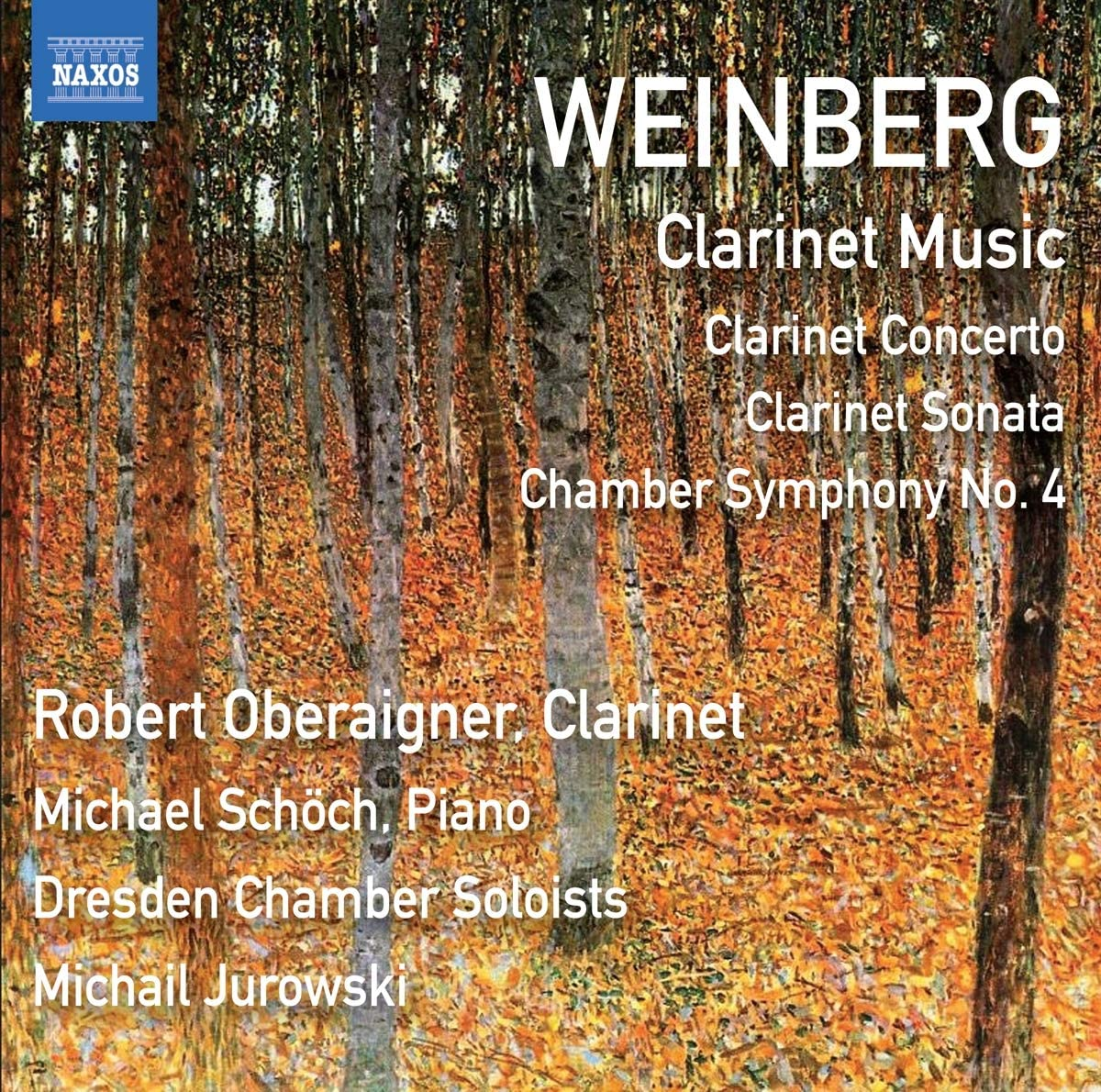 Review of WEINBERG Clarinet Music (Robert Oberaigner)