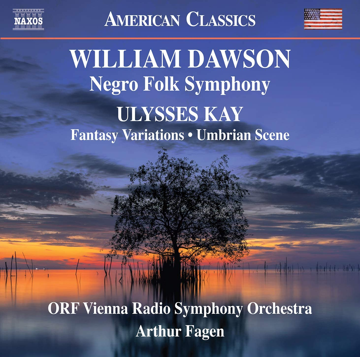 Review of DAWSON Negro Folk Symphony KAY Fantasy Variations