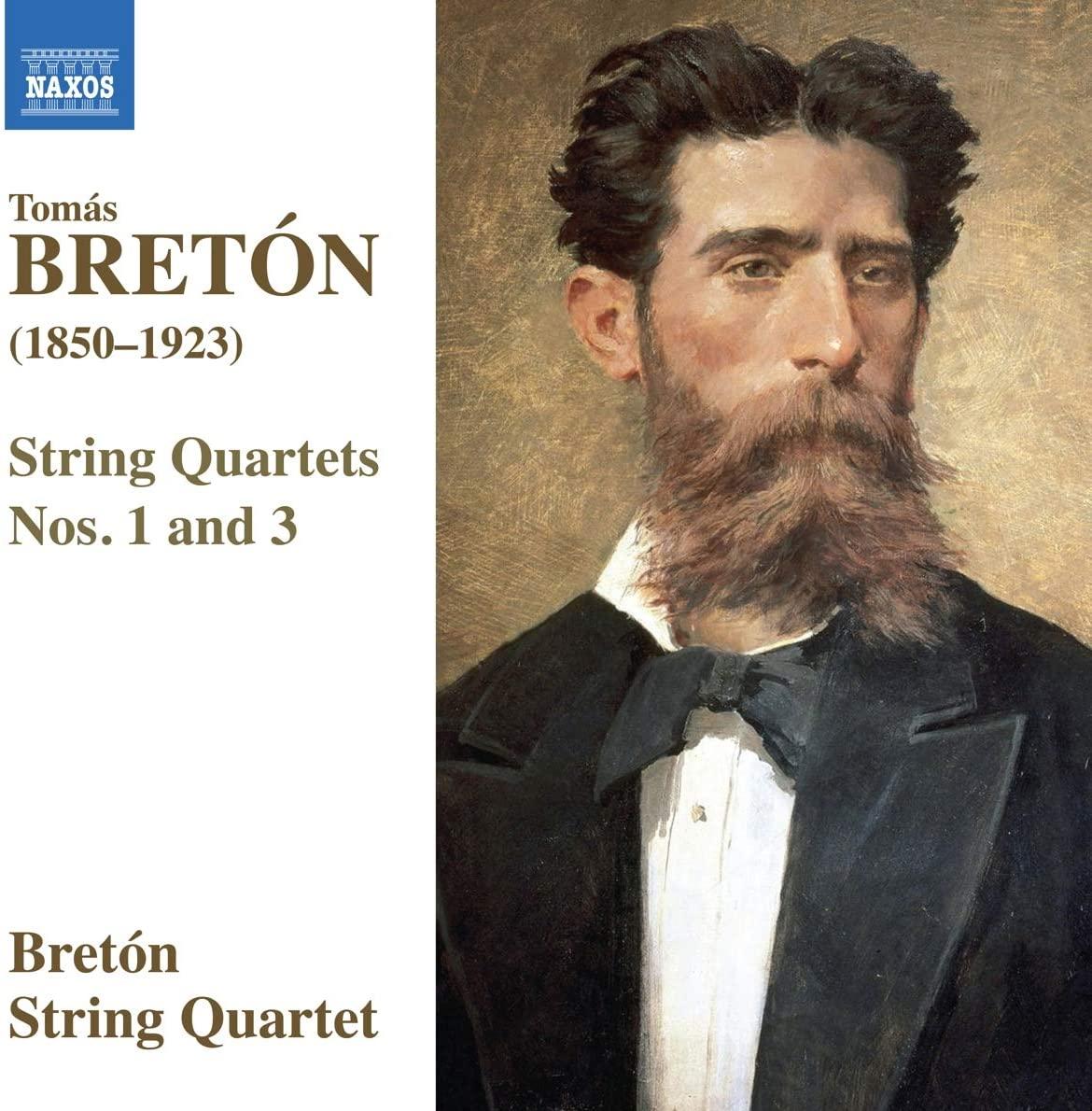 Review of BRETÓN String Quartets Nos 1 & 3