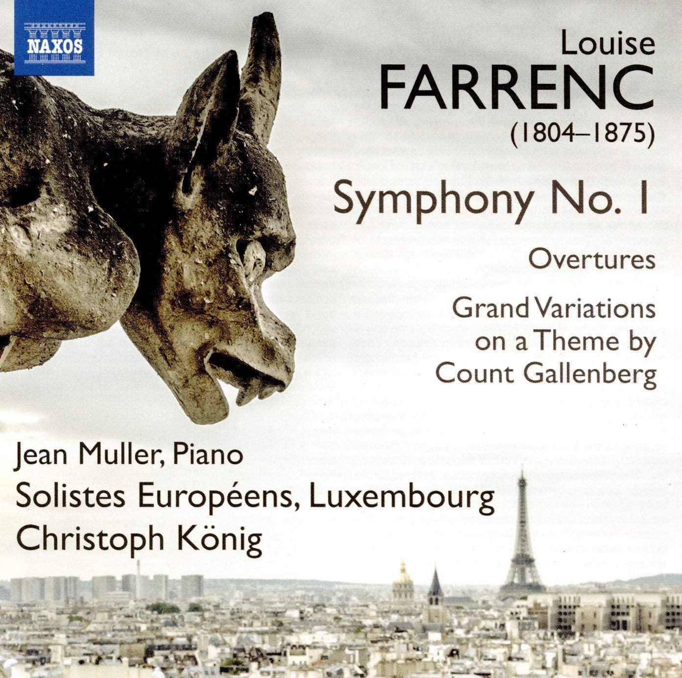 Review of FARRENC Symphony No 1 (König)