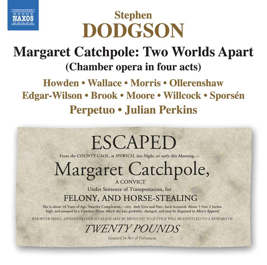 Review of DODGSON Margaret Catchpole  - Two Worlds Apart