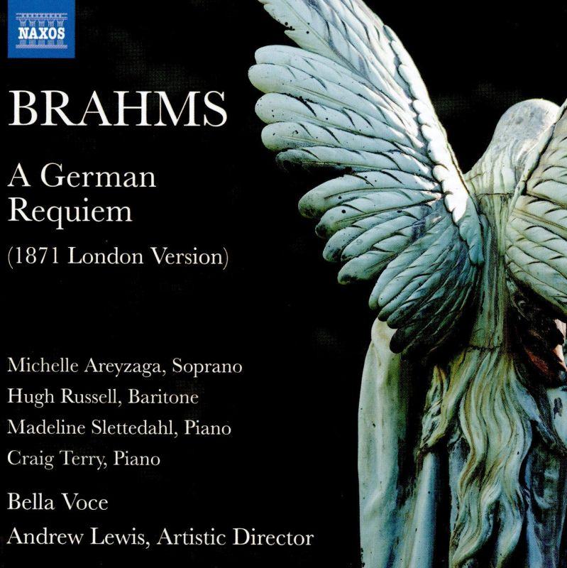 Review of BRAHMS A German Requiem (1871 London Version. Lewis)