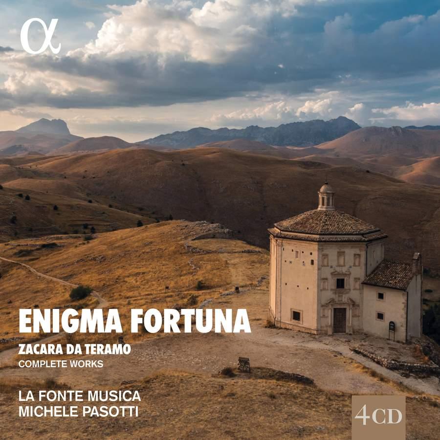 Review of ZACHARA DE TERAMO Enigma Fortuna (La Fonte Musica. Michele Pasotti)