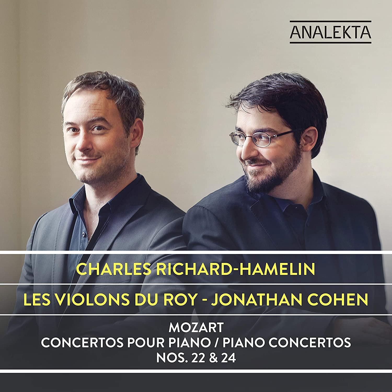 Review of MOZART Piano Concertos Nos 22 & 24 (Richard-Hamelin)