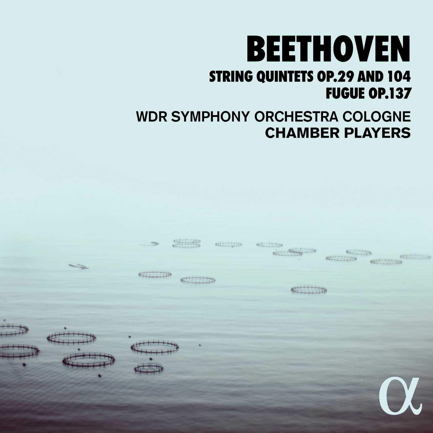 Review of BEETHOVEN String Quintets Opp 29 & 104. Fugue op 137