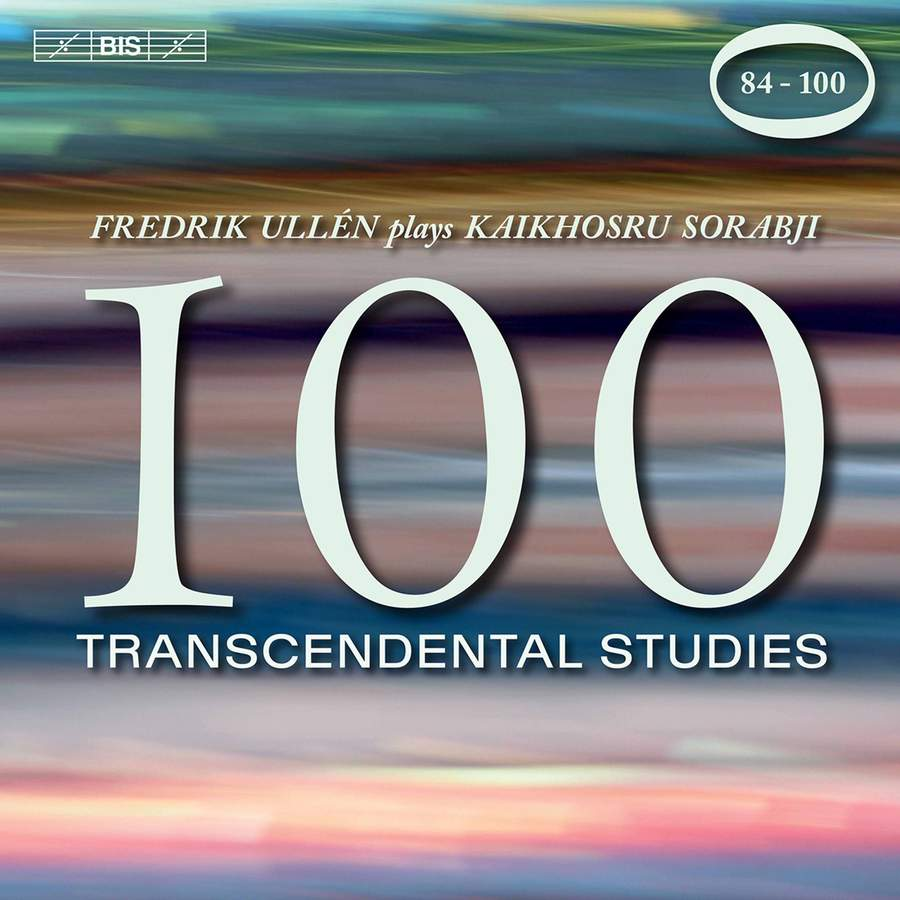 Review of SORABJI 100 Transcendental Studies 84-100 (Fredrik Ullén)