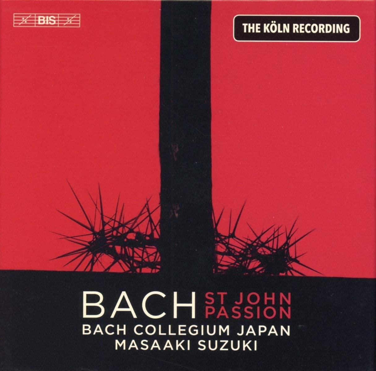 Review of JS BACH St John Passion (Suzuki)