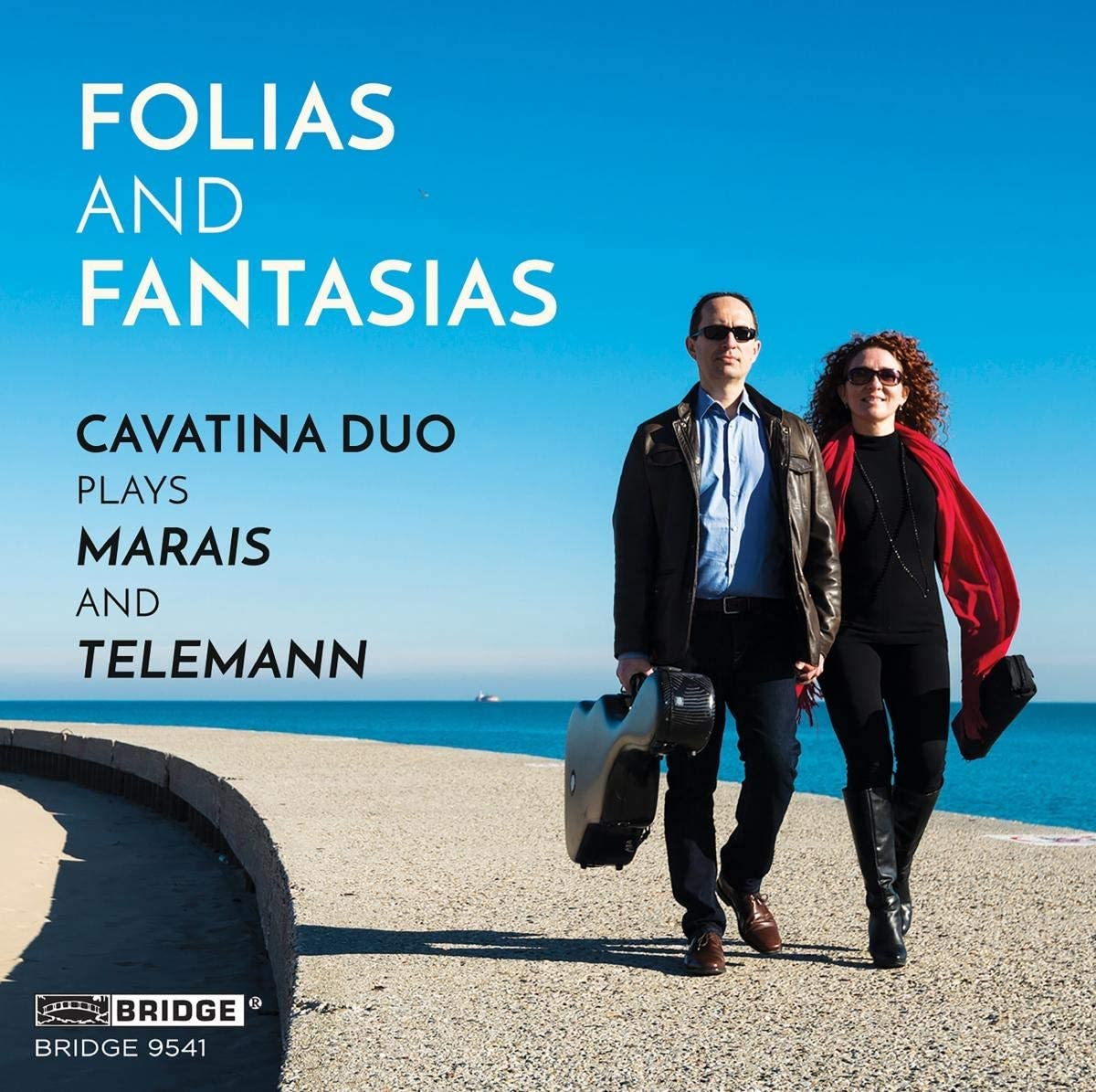 Review of MARAIS; TELEMANN Folias and Fantasias (Cavatina Duo)