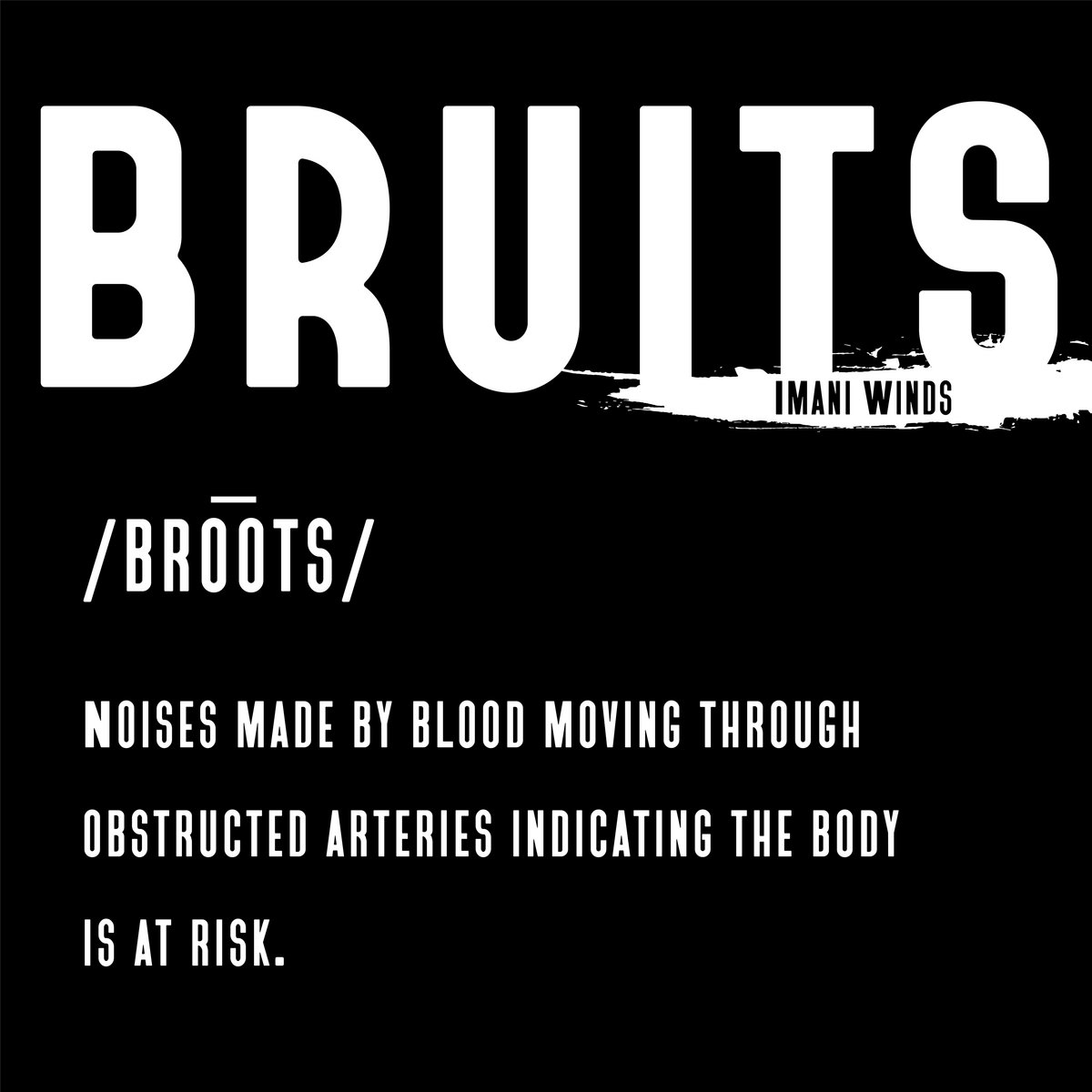 Review of Bruits (Imani Winds)