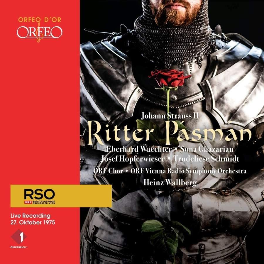 Review of J STRAUSS II Ritter Pásmán (Wallberg)