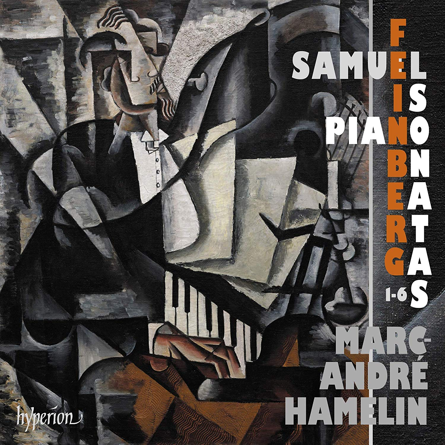 Review of FEINBERG Piano Sonatas Nos 1-6 (Marc-André Hamelin)