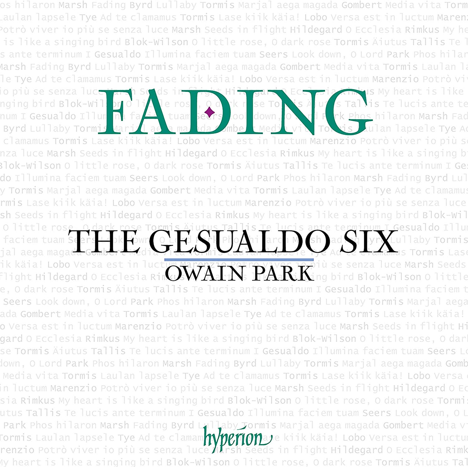 Review of Fading (The Gesualdo Six)
