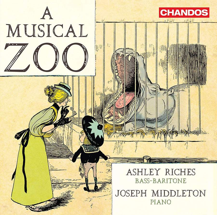 Review of Ashley Riches: A Musical Zoo