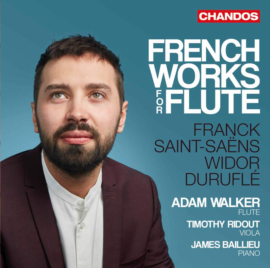 Review of Adam Walker: French Works For Flute