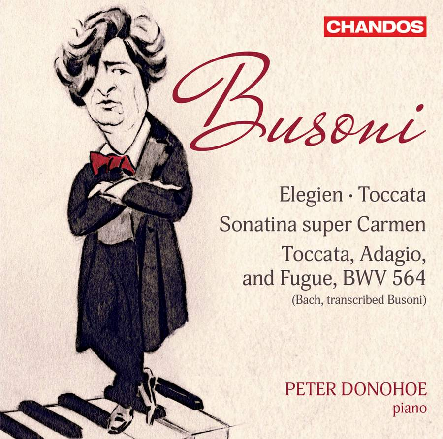 Review of BUSONI Elegies. Toccata (Peter Donohoe)