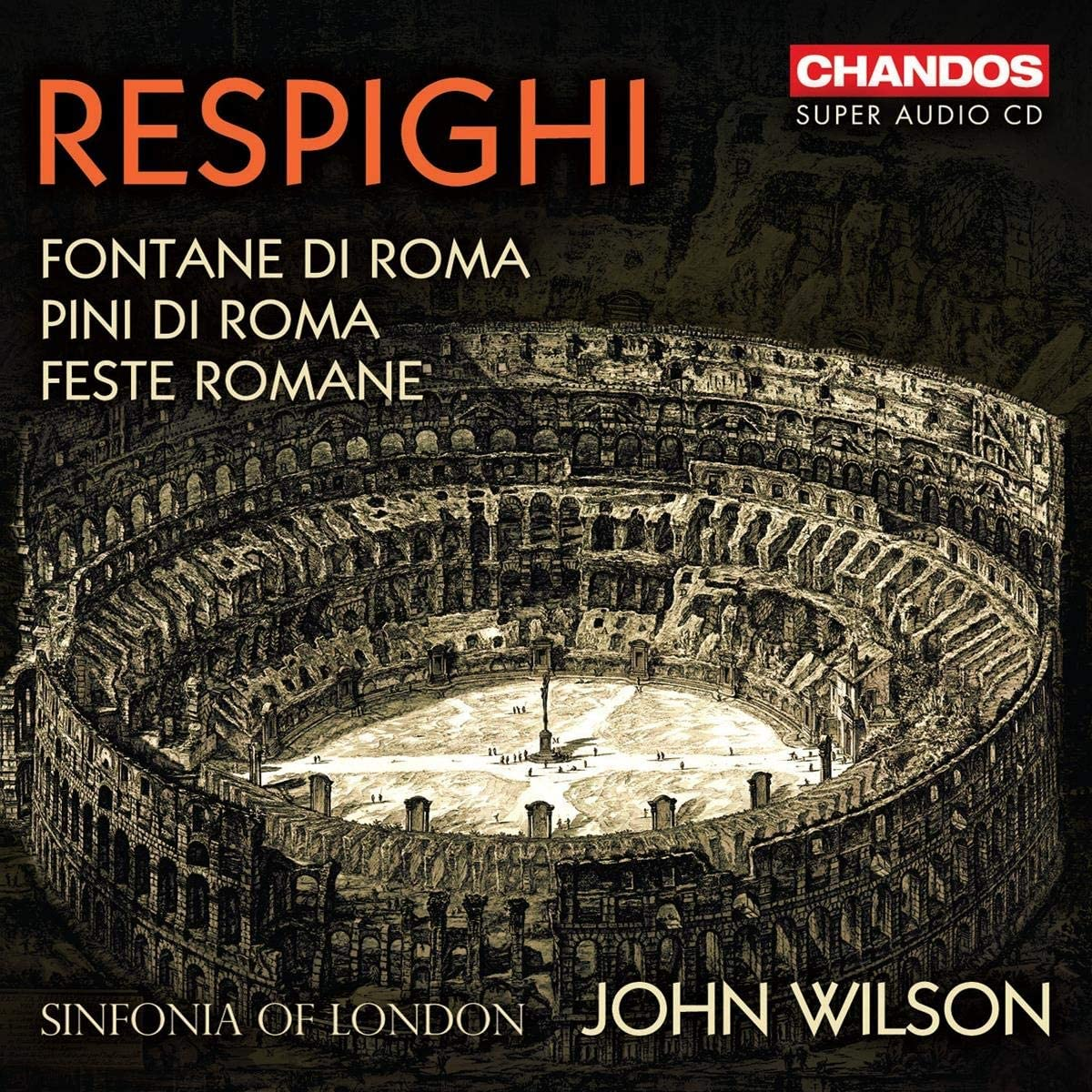 Review of RESPIGHI Roman Trilogy (Wilson)