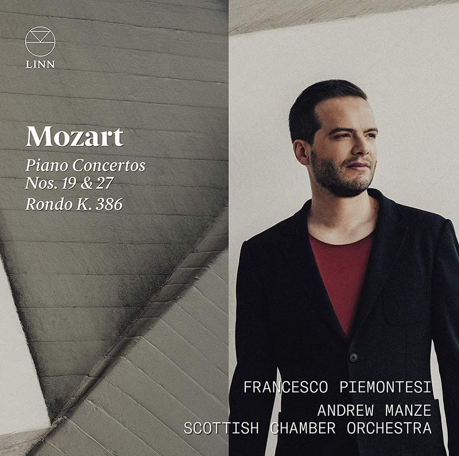 Review of MOZART Piano Concertos Nos 19 & 27 (Francesco Piemontesi)