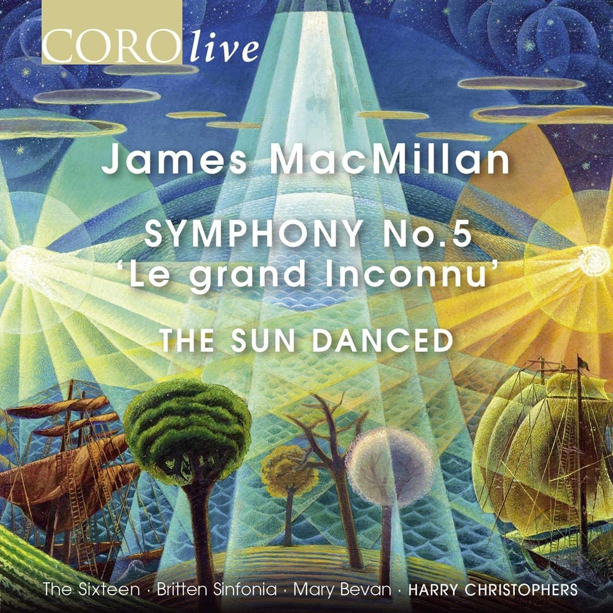 Review of MACMILLAN Symphony No 5. The Sun Danced (Christophers)