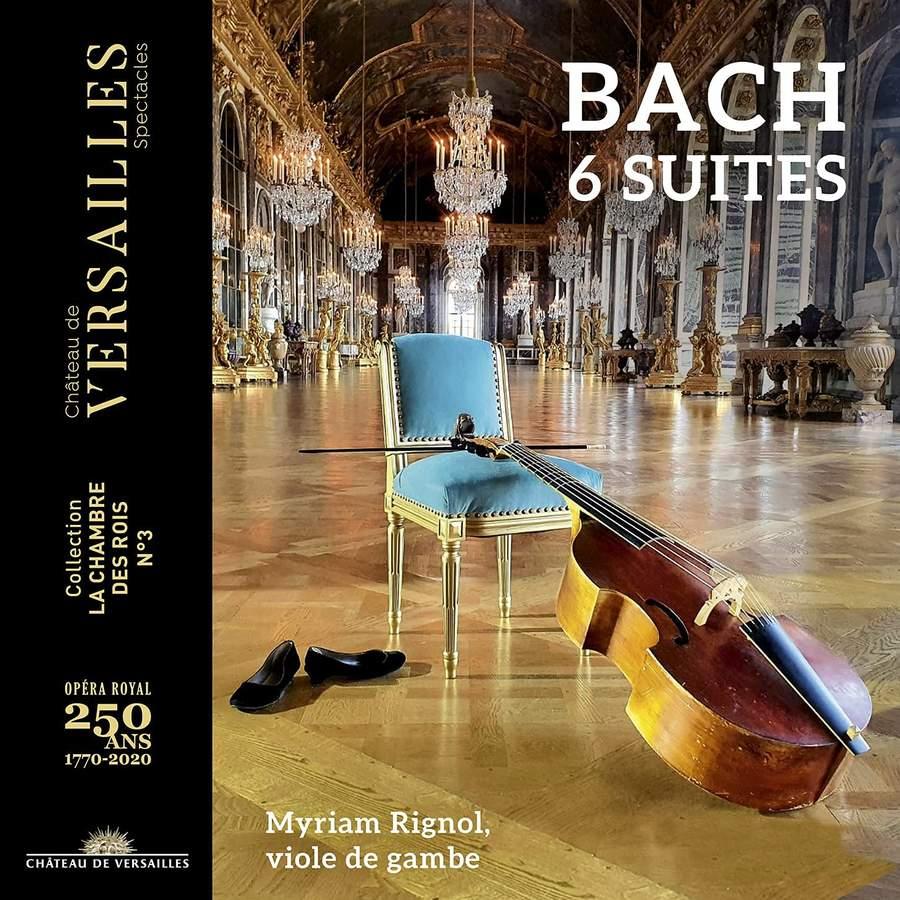 Review of JS BACH 6 Suites (Myriam Rignol)