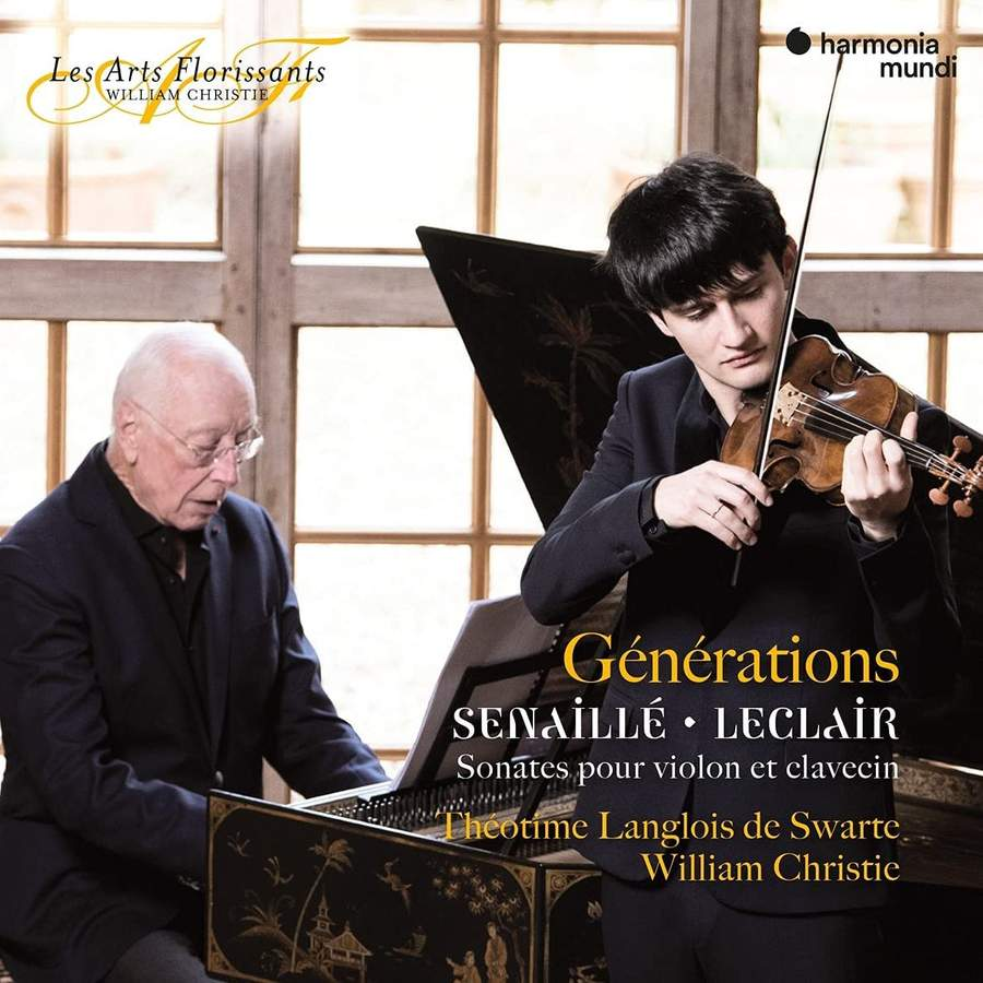 Review of LECLAIR; SENAILLE Sonatas for Violin and Harpsichord