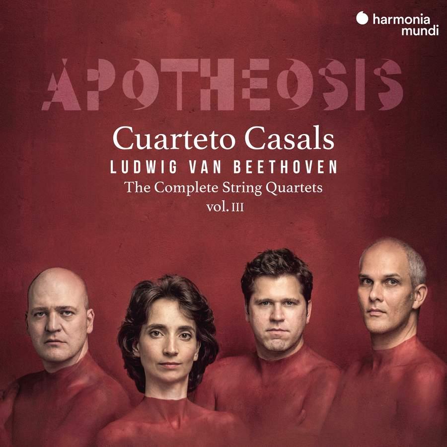 Review of BEETHOVEN Complete String Quartets Vol 3 (Casals Quartet)