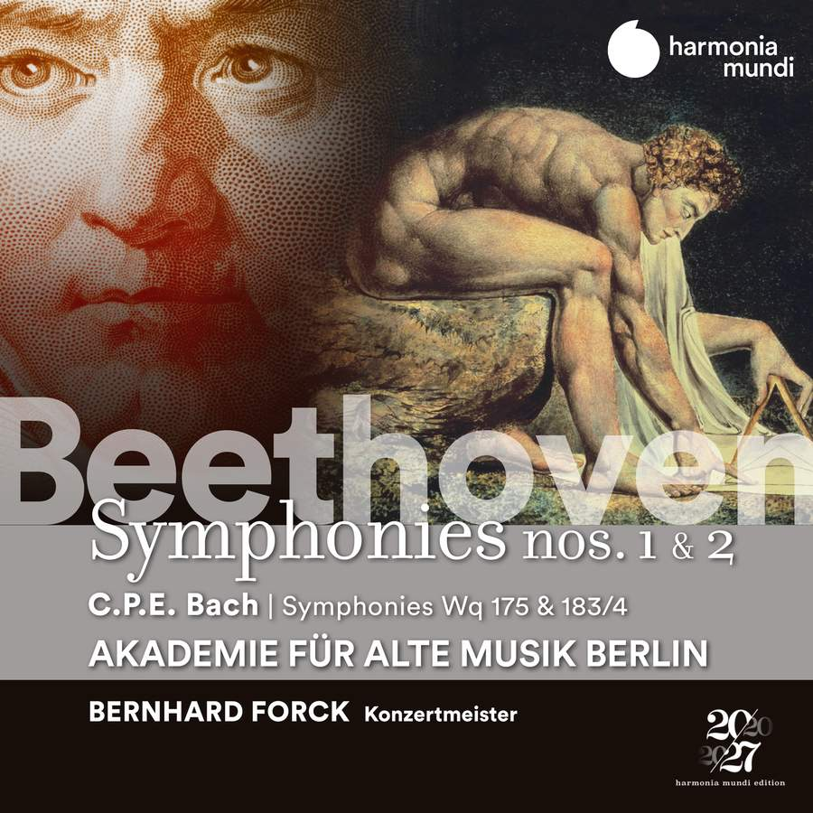 Review of BEETHOVEN Symphonies 1 & 2 CPE BACH Symphonies (Forck)