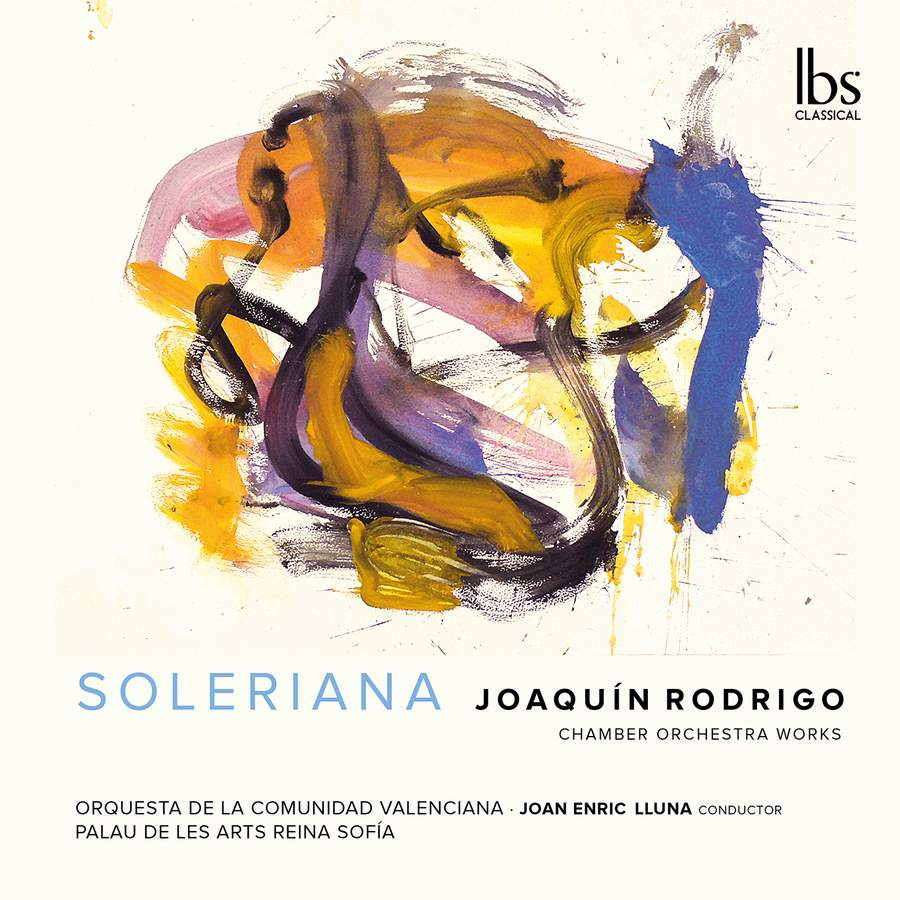 Review of RODRIGO Orchestral Works (Lluna)
