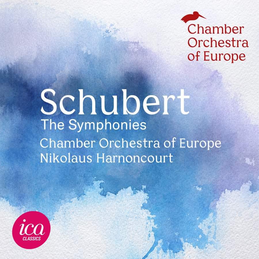 ICAC5160. SCHUBERT The Symphonies (Harnoncourt)