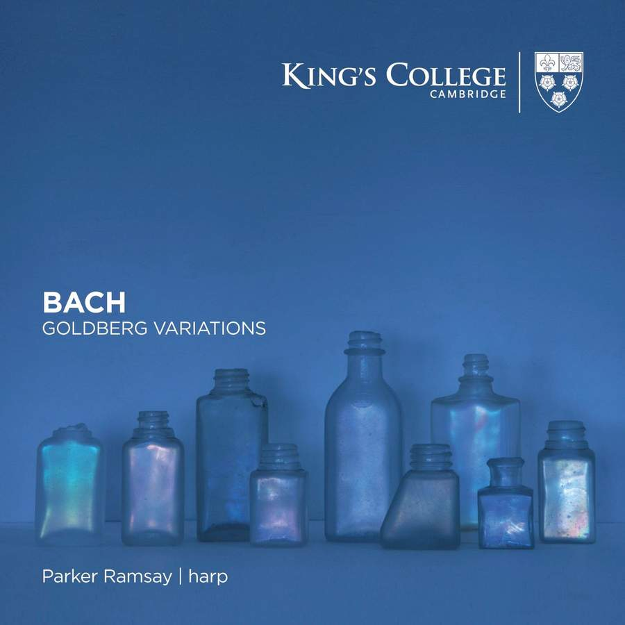 Review of JS BACH Goldberg Variations (arr for harp. Parker Ramsay )