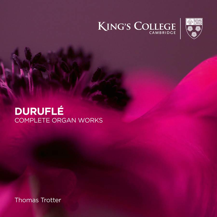Review of DURUFLÉ Complete organ works (Thomas Trotter)