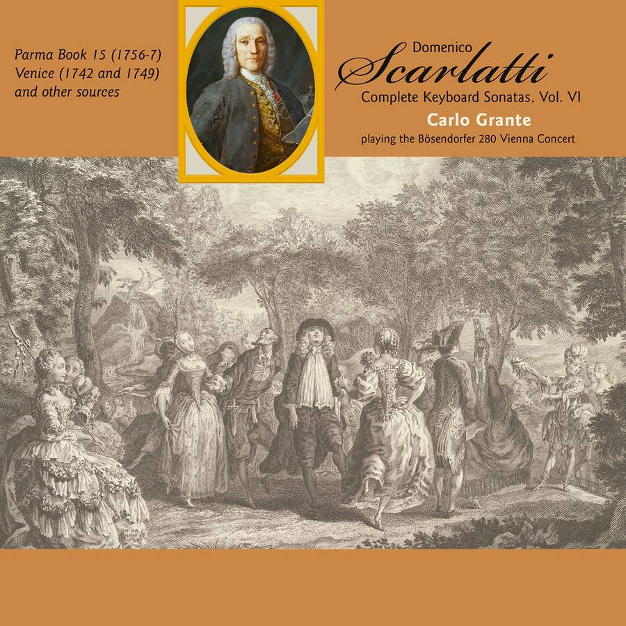 Review of SCARLATTI The Complete Keyboard Sonatas, Vol 6 (Carlo Grante)