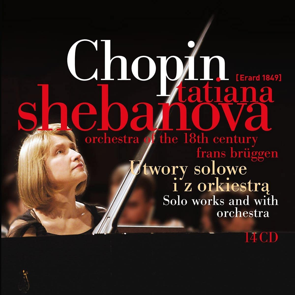 Review of Tatiana Shebanova: Chopin - Solo works and works for Piano and orchestra