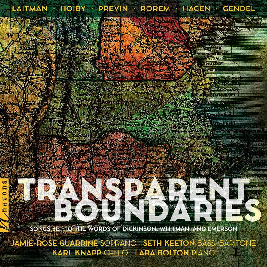 Review of Transparent Boundaries: Songs Set to the Words of Dickinson, Whitman & Emerson