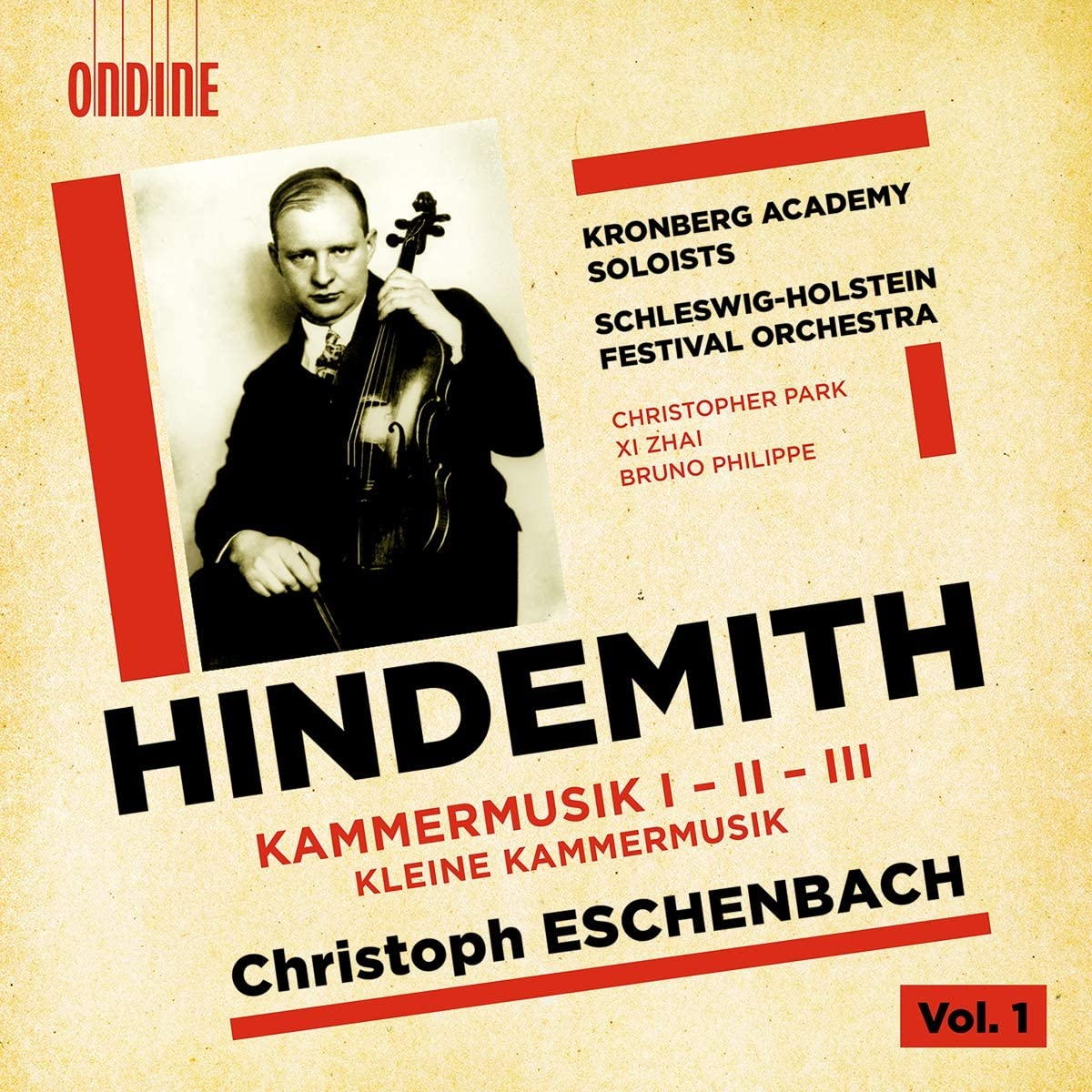 Review of HINDEMITH Kammermusic I-III. Kleine Kammermusik