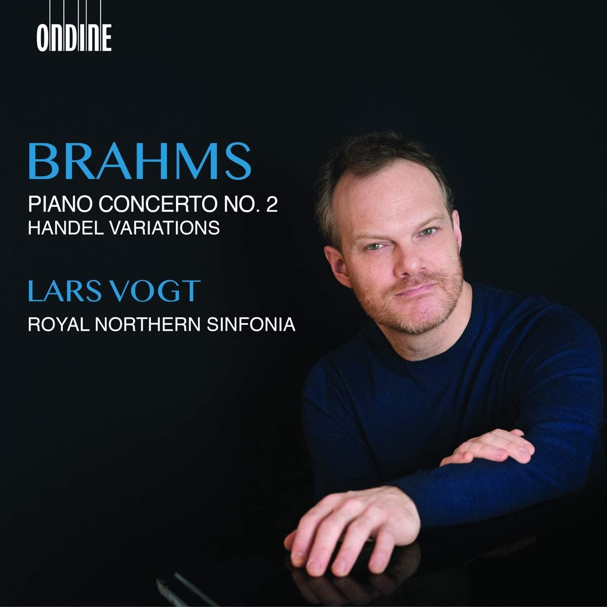 Review of BRAHMS Piano Concerto No 2. Handel Variations (Lars Vogt)