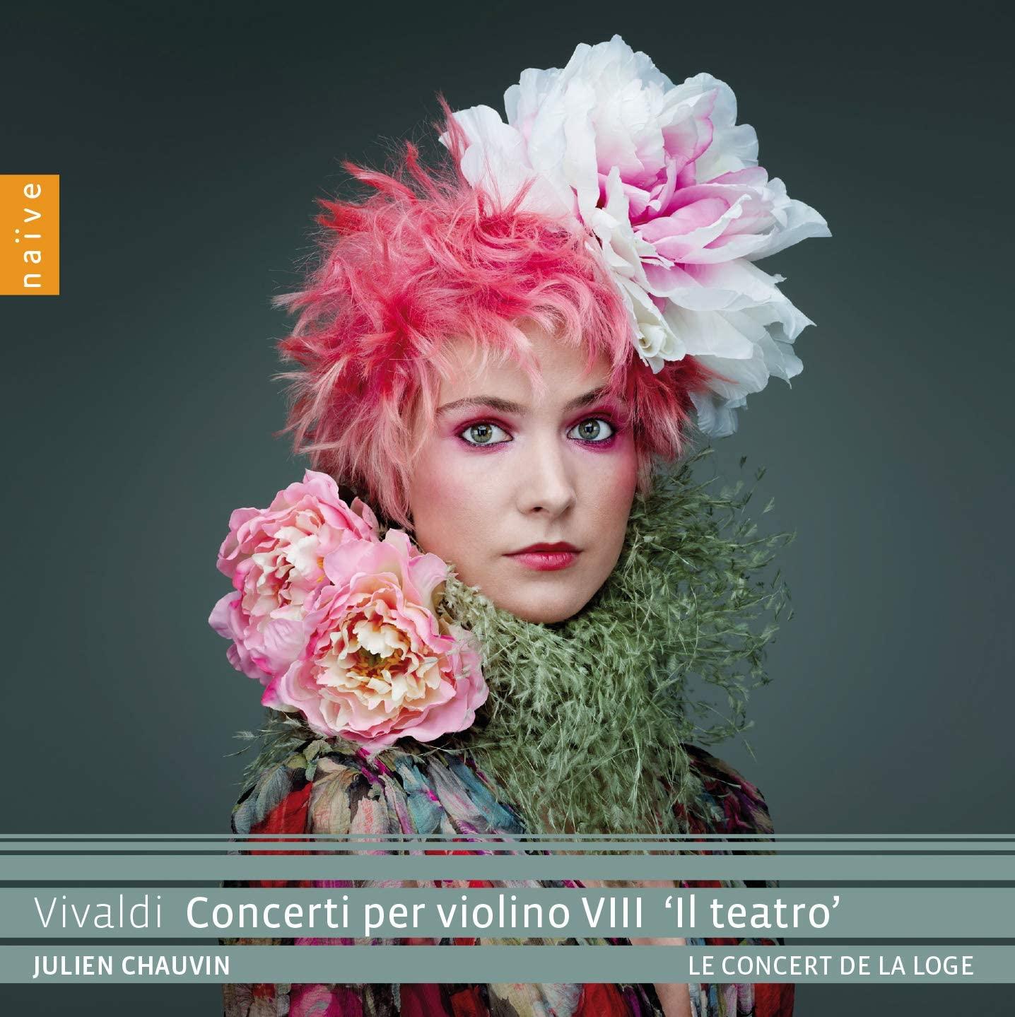 Review of VIVALDI Concerti per violino VIII 'Il teatro' (Julien Chauvin)