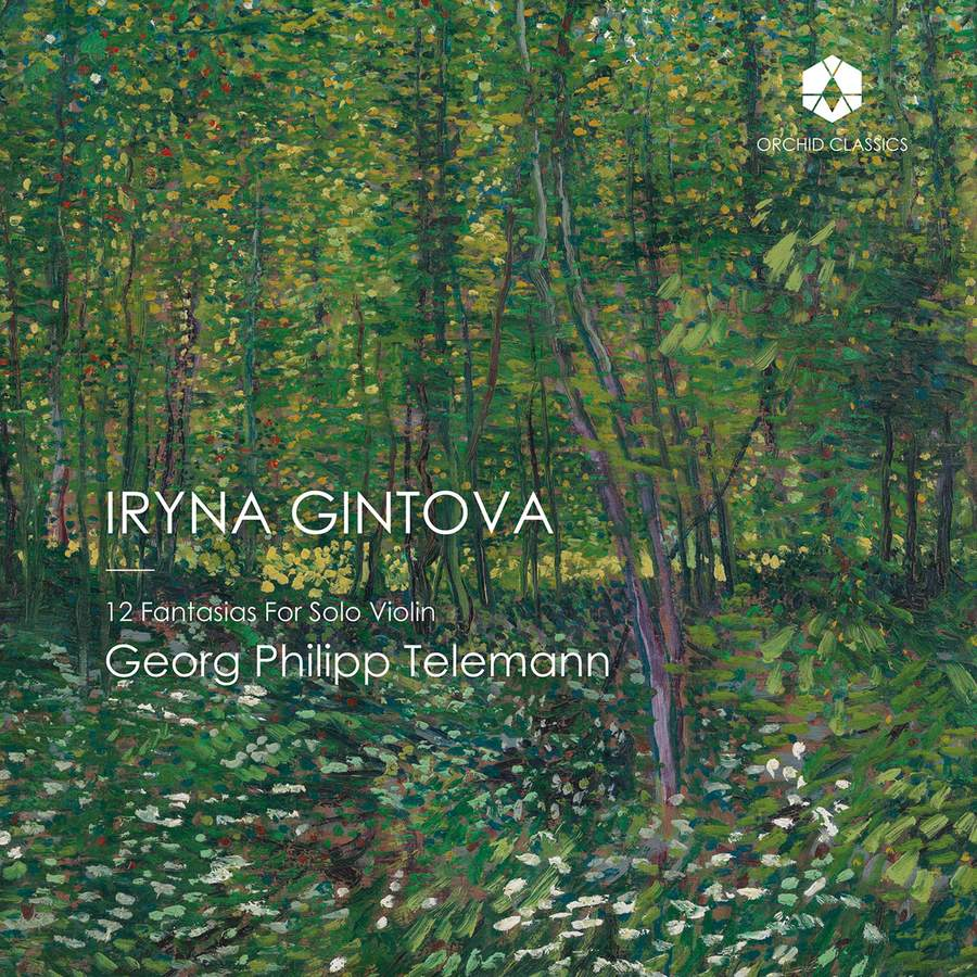 Review of TELEMANN 12 Fantasias for Solo Violin (Iryna Gintova)