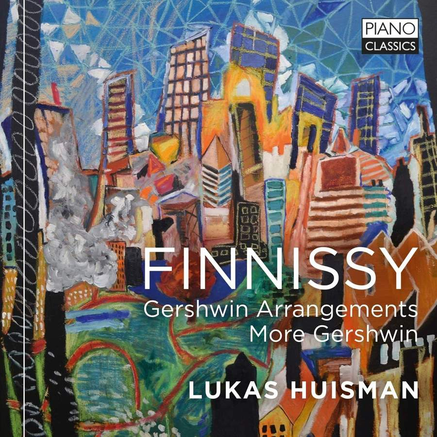 Review of FINNISSY Gershwin Arrangements. More Gershwin (Lukas Huisman)