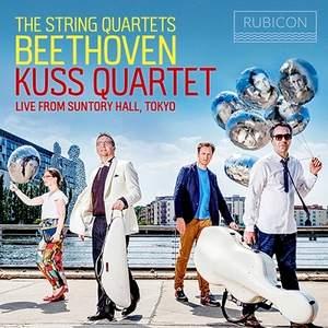 RCD1045. BEETHOVEN String Quartets (Kuss Quartet)
