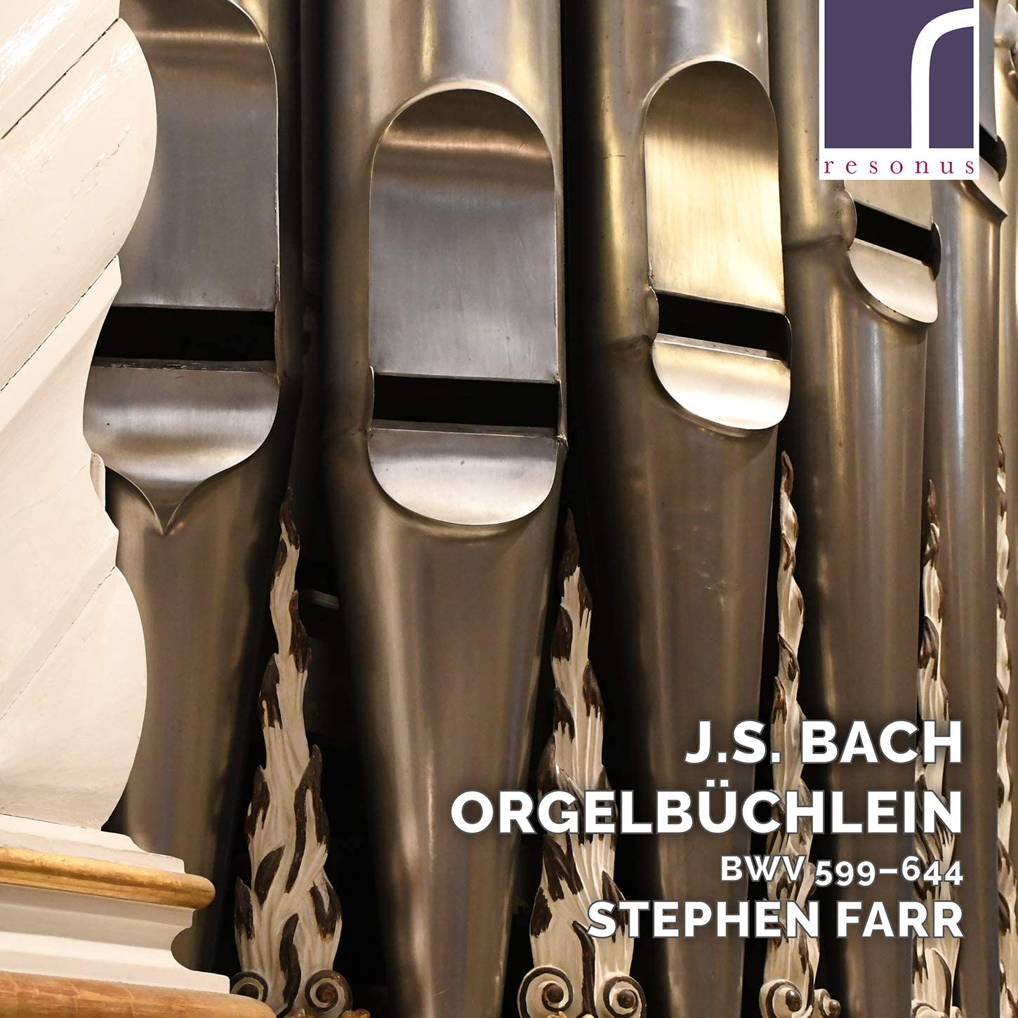 Review of JS BACH Orgelbüchlein, BWV 599-644 (Stephen Farr)