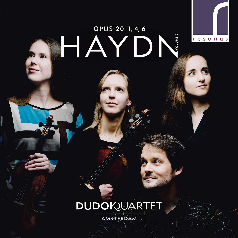 Review of HAYDN String Quartets Op 20 – No 1; No 4; No 6 (Dudok Quartet)