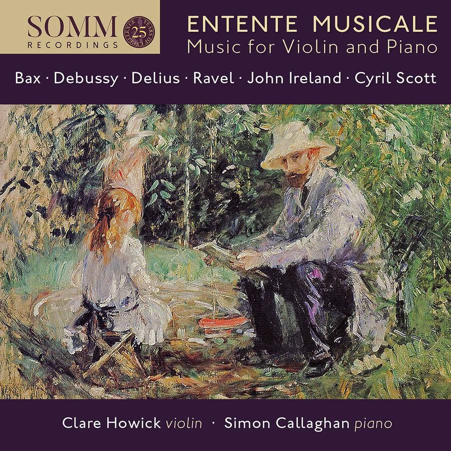 Review of Entente Musicale: Music for Violin and Piano (Clare Howick)