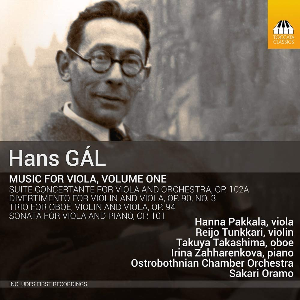 Review of GAL Viola Music, Vol 1 (Hanna Pakkala)