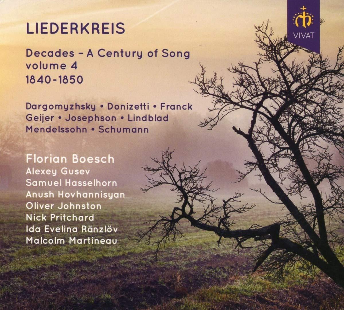 Review of Liederkreis: Decades – A Century of Song, Vol 4: 1840-1850