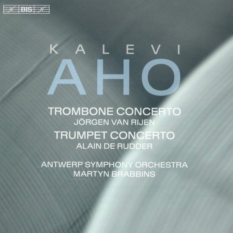 Review of AHO Trombone Concerto. Trumpet Concerto (Brabbins)